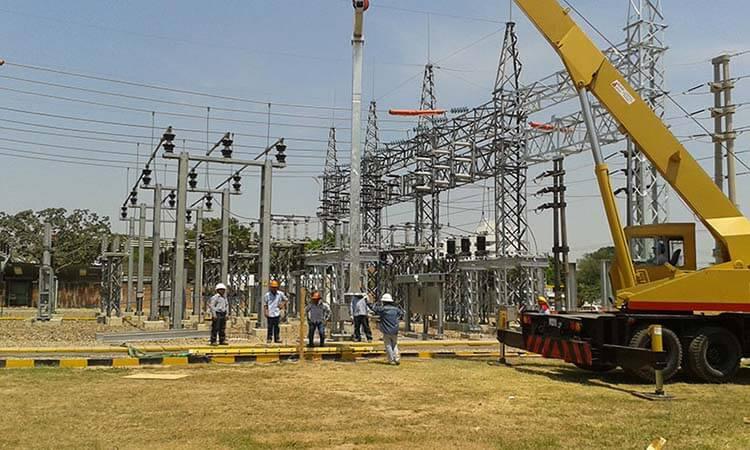 Izaje cercano a líneas eléctricas