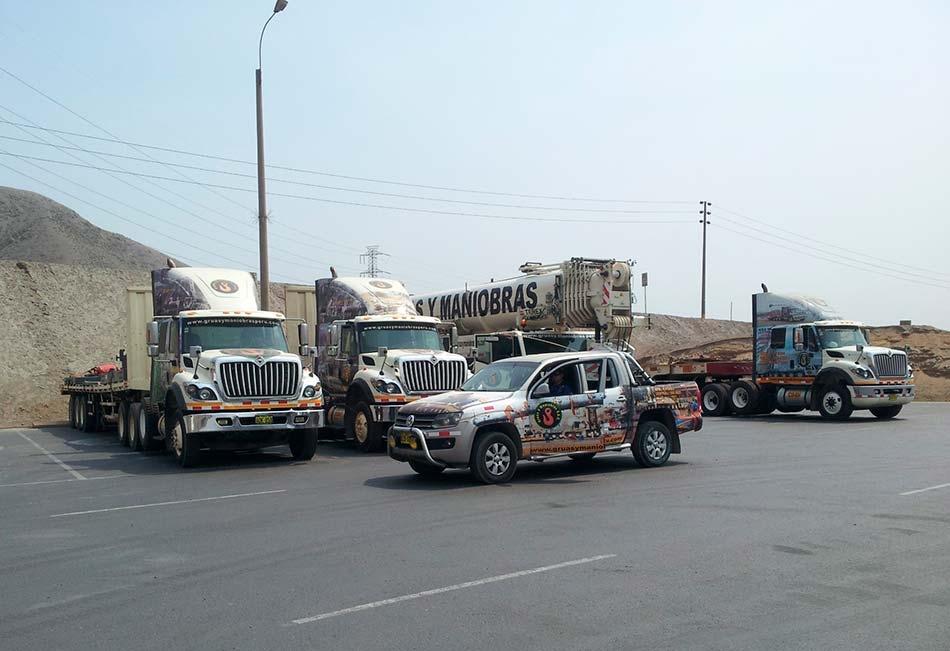 empresas de grúas en Lima
