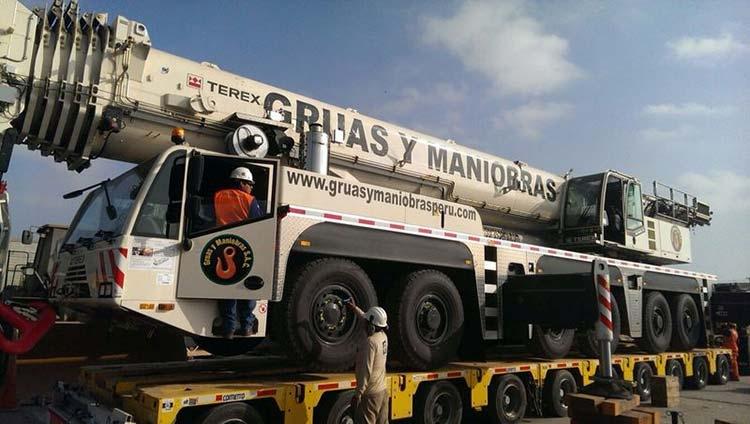 Transporte modular para carga pesada
