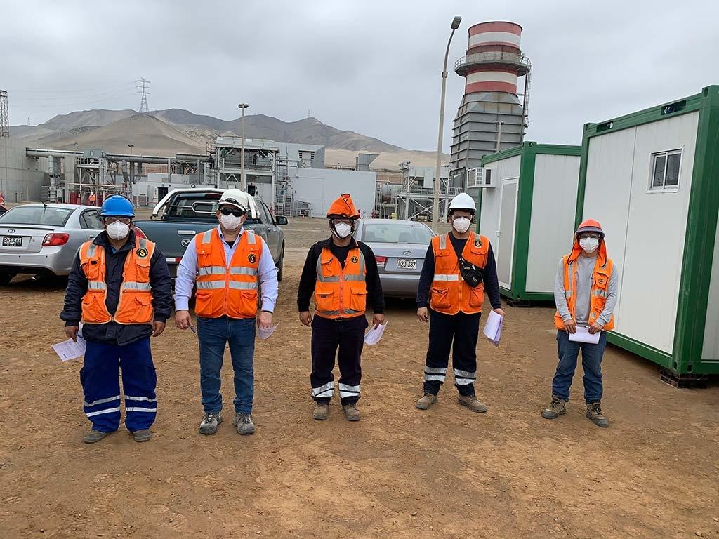 Central Termoeléctrica Las Flores