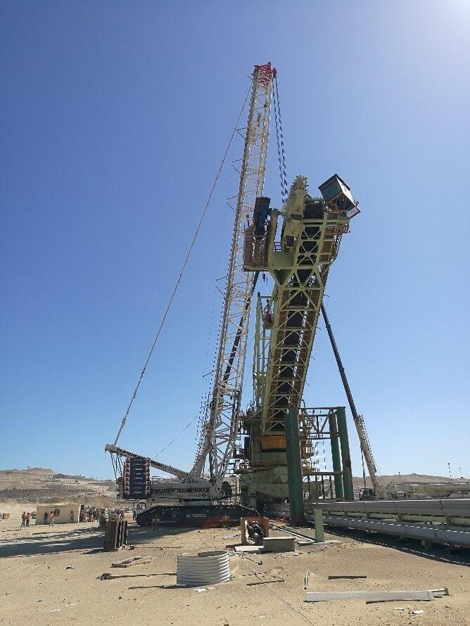 Montaje y desmontaje en mina Marcona para SHOUGANG